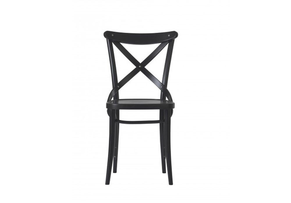 Scaun din lemn de fag 150 Wenge, l45xA51xH86,5 cm