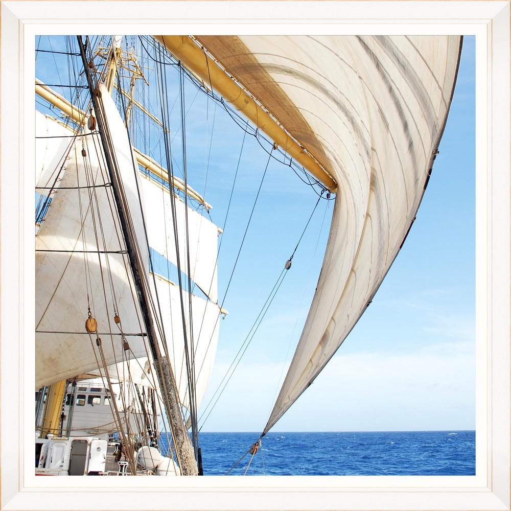 Tablou Framed Art White Sail II