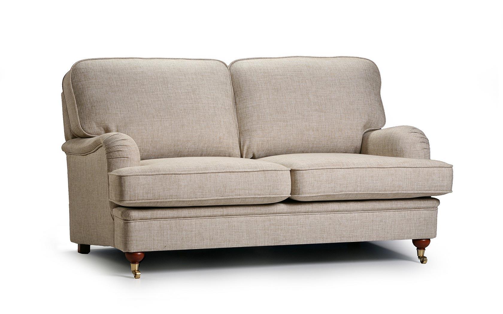 Canapea fixa 2 locuri tapitata cu stofa Winston