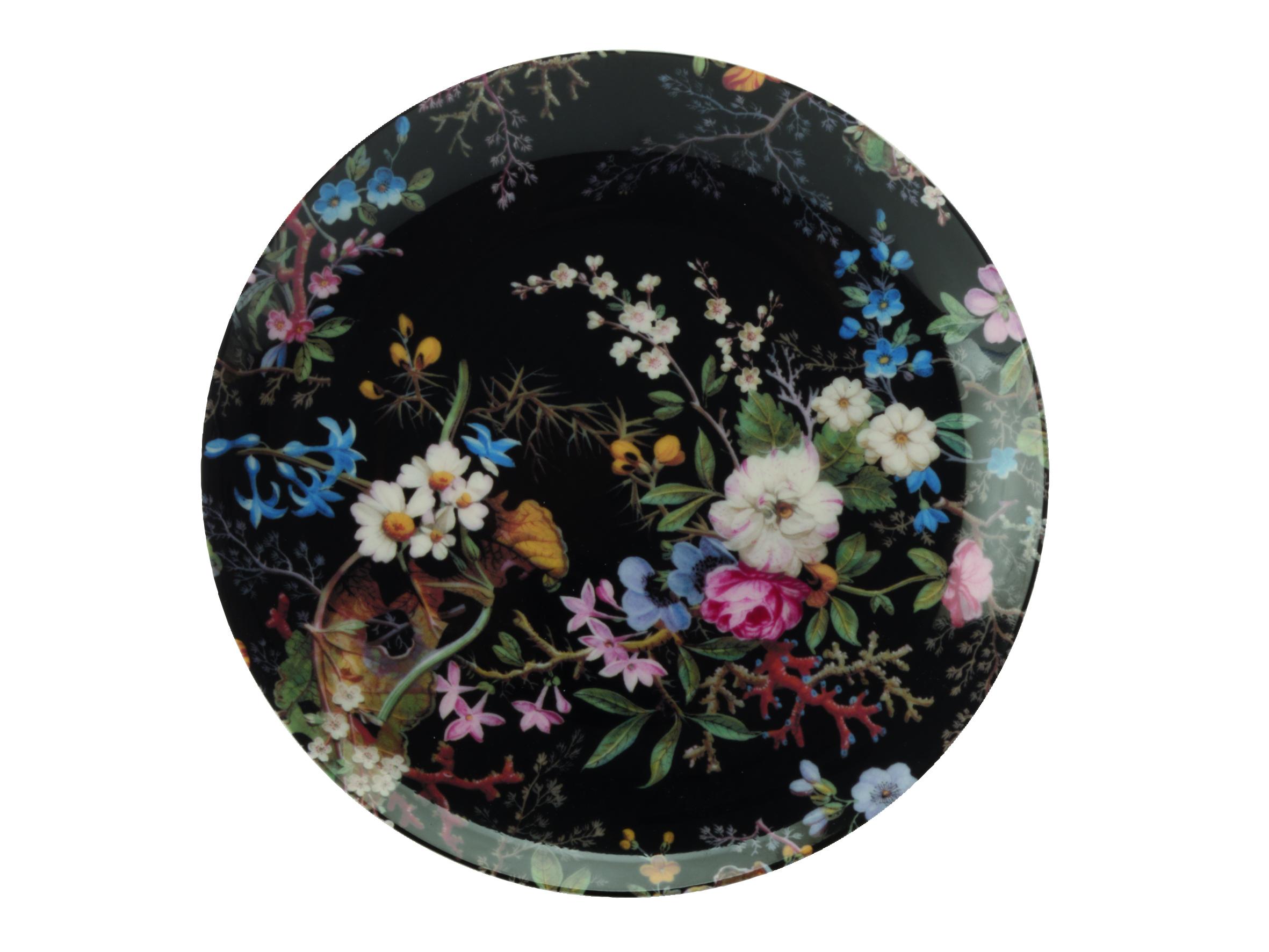 Farfurie Midnight Blossom, William Kilburn, 20 cm