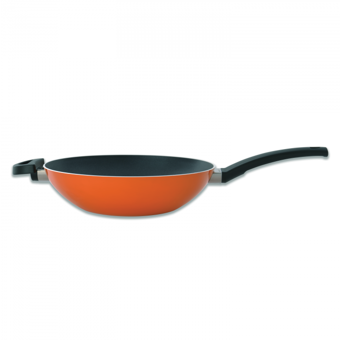 Tigaie Wok Orange 28 cm Eclipse Line