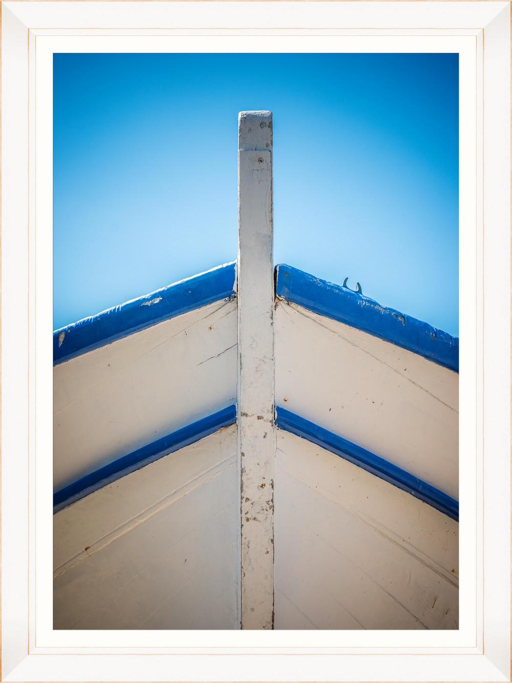 Tablou Framed Art Wooden Boat Bow I