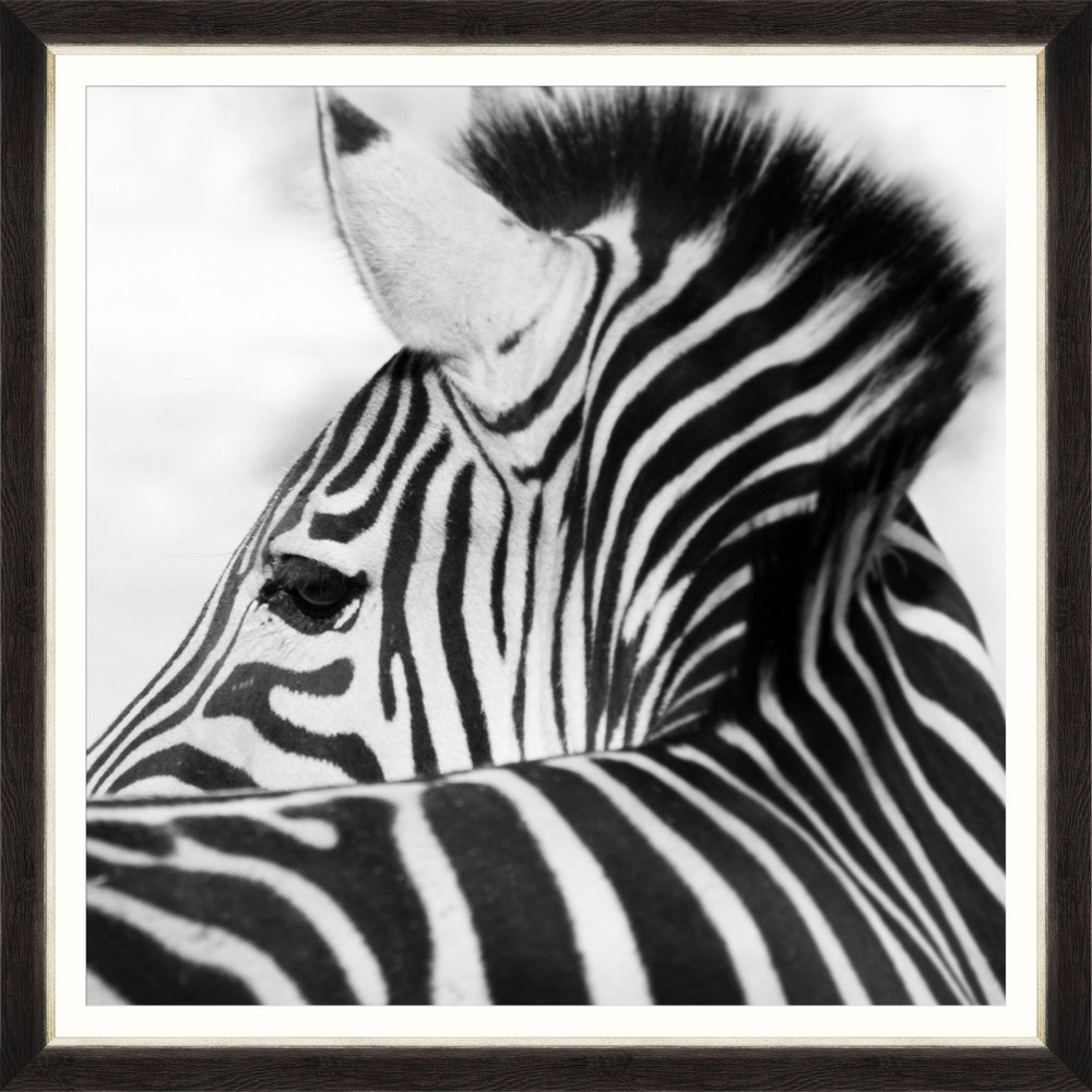 Tablou Framed Art Zebra Head