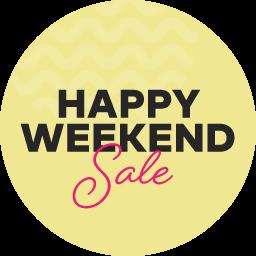 Happy Weekend Sale